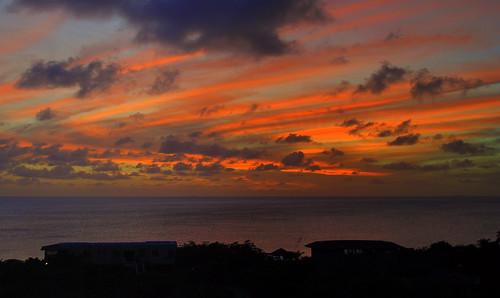 sunset sky clouds silhouettes caribbean bonaire antilles netherlandsantilles antillen nederlandseantillen dutchcaribbean caribbeannetherlands caribischnederland