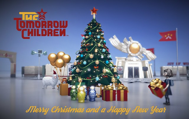 Happy Holidays from The Tomorrow Children