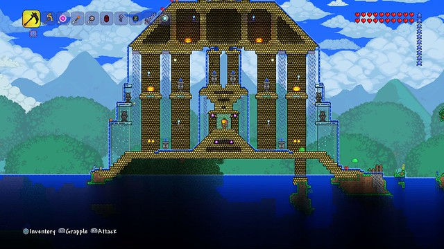 Terraria on PS4