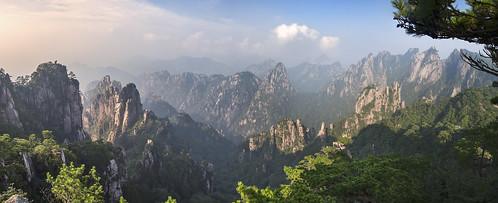 china sea panorama mountain de landscape monkey asia pano watch haan huangshan demis 17mm monkeywatchingthesea huangshanchina