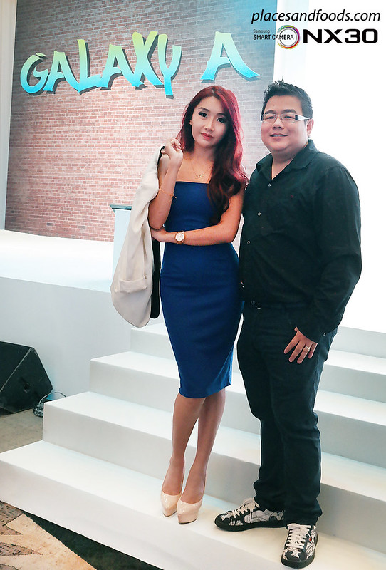 galaxy a launch malaysia michelle lee