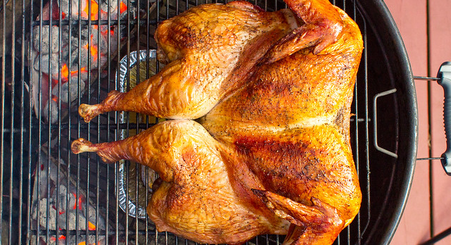 spatchcocked Turkey - Header