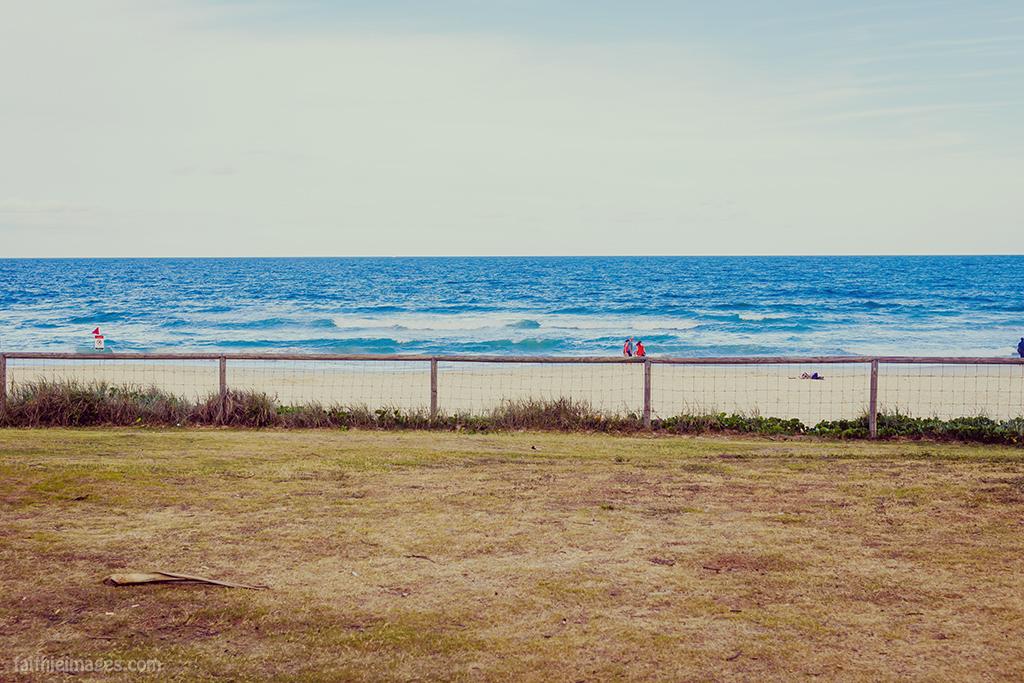 Minimal Queensland landscape