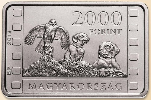 Hungary 2000 Forint Coin on Istvan Homoki-Nagy reverse