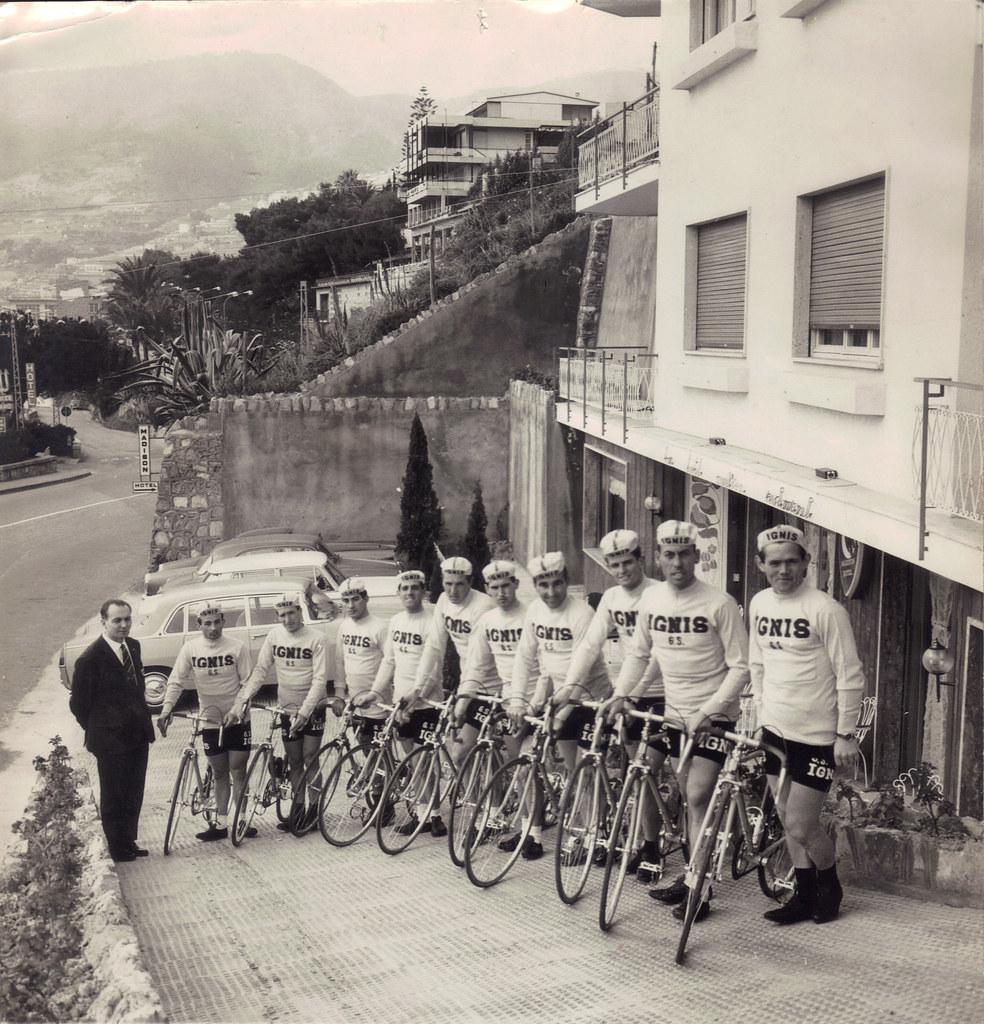 Ospedaletti - allenamento per Giro d'Italia 1964