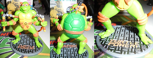 MONOGRAM INTERNATIONAL :: TEENAGE MUTANT NINJA TURTLES; COLLECTIBLE FIGURINES xii / MICHELANGELO (( 2014 ))