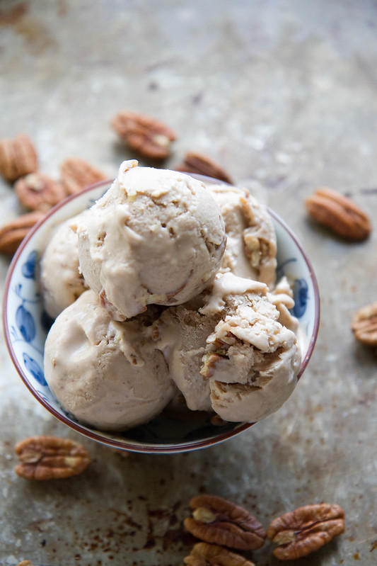 Maple Pecan ice Cream - Vegan