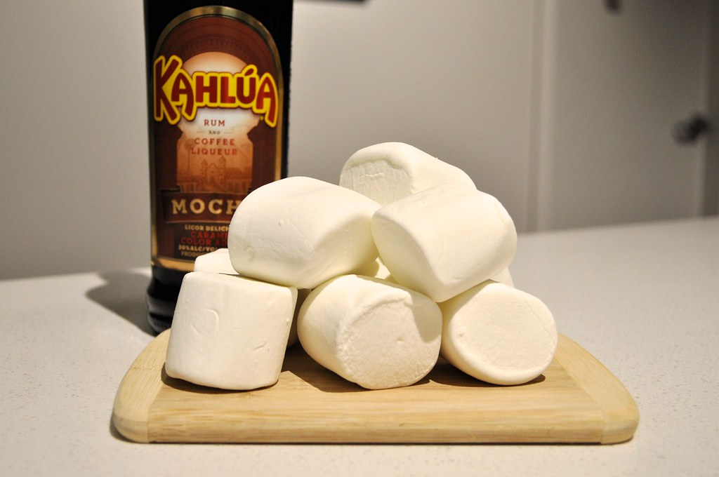 Holiday Marshmallow Shots