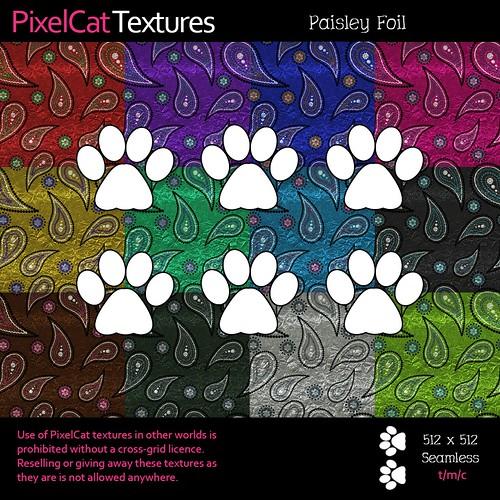 PixelCat Textures - Paisley Foil