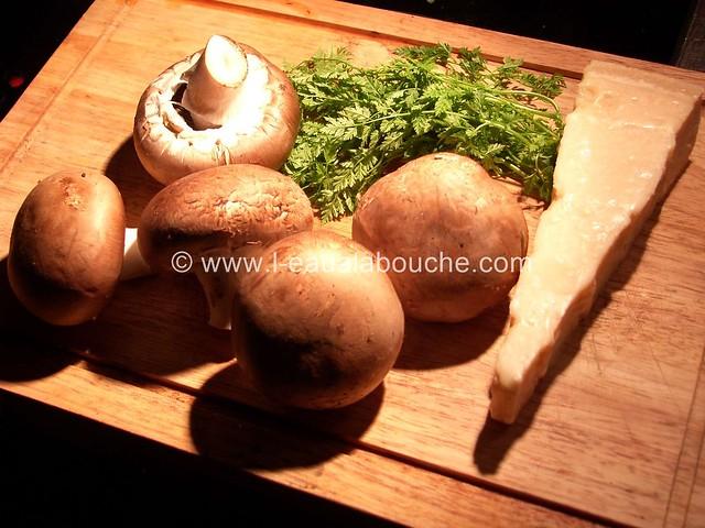 Carpaccio de Champignons © Ana Luthi Tous droits réservés