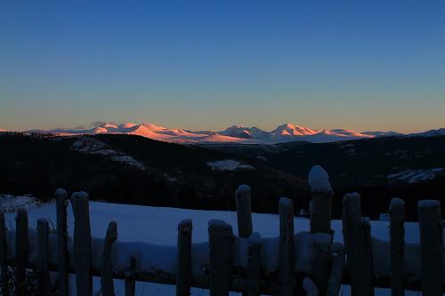 norway sunrise rondanenationalpark trondsphoto