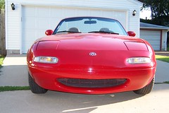 Phil's red 1994 Miata C-Package