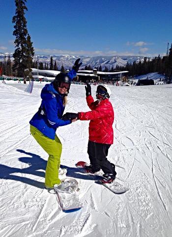 Autism Skis! Snowman