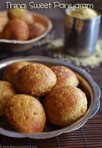 Foxtail Millet Paniyaram