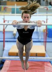 sprint(0.0), floor gymnastics(0.0), athletics(0.0), jumping(0.0), high jump(0.0), swimmer(0.0), heptathlon(0.0), sports(1.0), gymnastics(1.0), gymnast(1.0), artistic gymnastics(1.0), uneven bars(1.0), athlete(1.0),