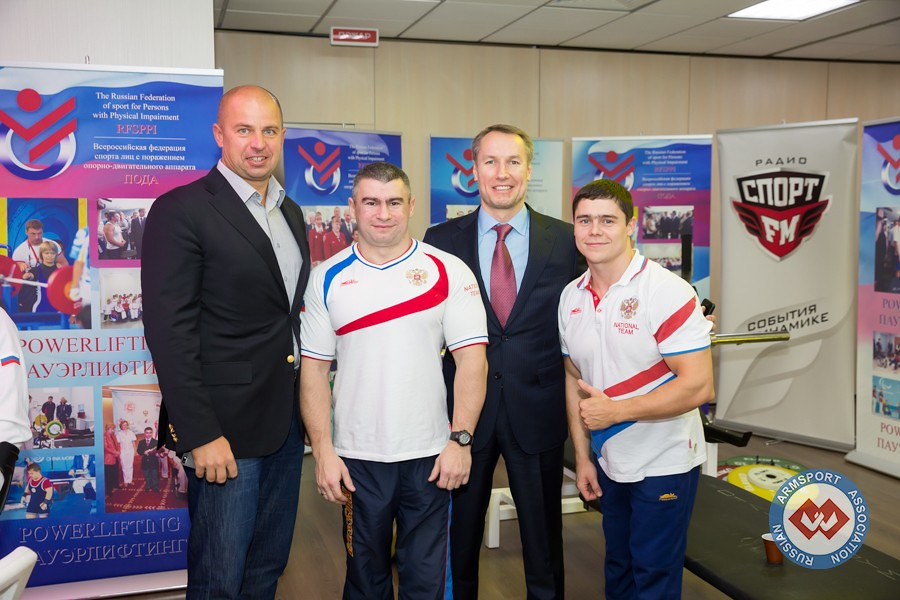 Opening of the House of Paralympic Sport in Russia, 2014 │ Image Source: armsport-rus.ru