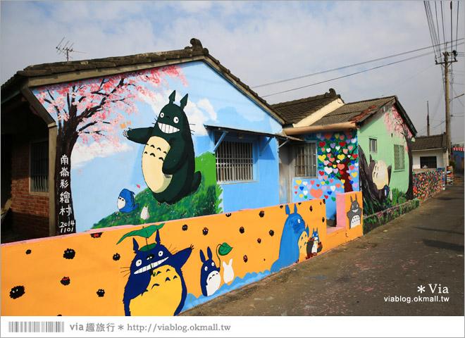 【嘉義龍貓村】南崙彩繪村~全台第一座以龍貓為主題的彩繪村!16