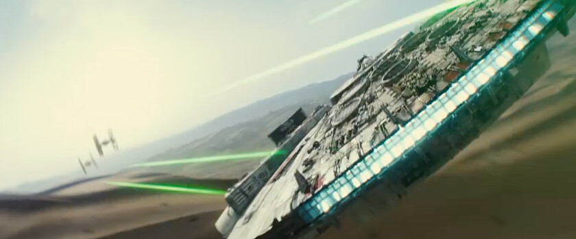 Star Wars : Episode 7 - The Force Awakens Teaser Trailer