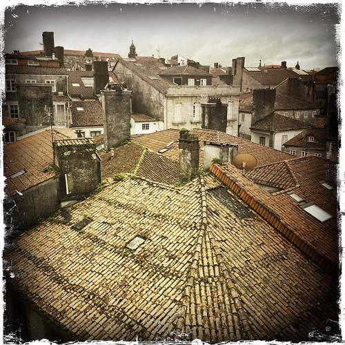 Roofs of Santiago de Compostela