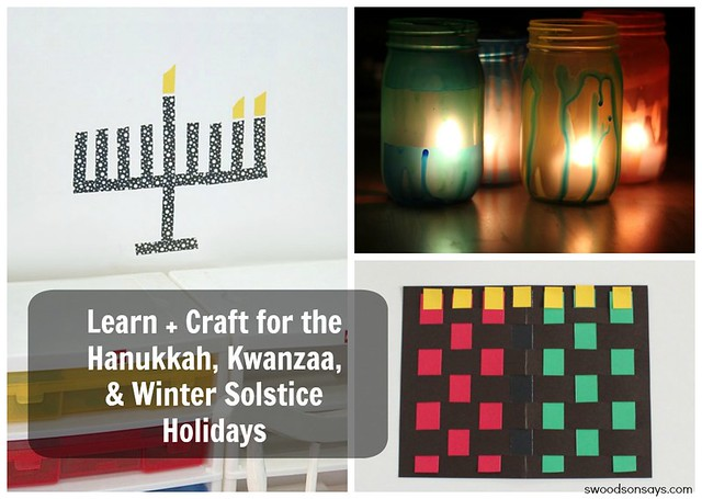 Craft Ideas for Hanukkah, Kwanzaa, and Yule