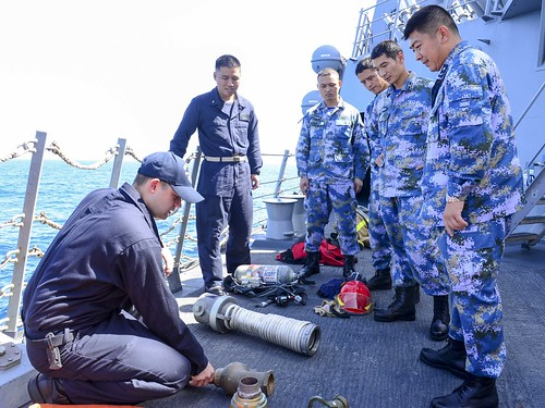US, China Conduct Anti-Piracy Exercise