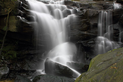 river branch fallsnew gorgewest virginiastreamscreekshillsmountainsrock canon7dcamerawaterfallsmarr
