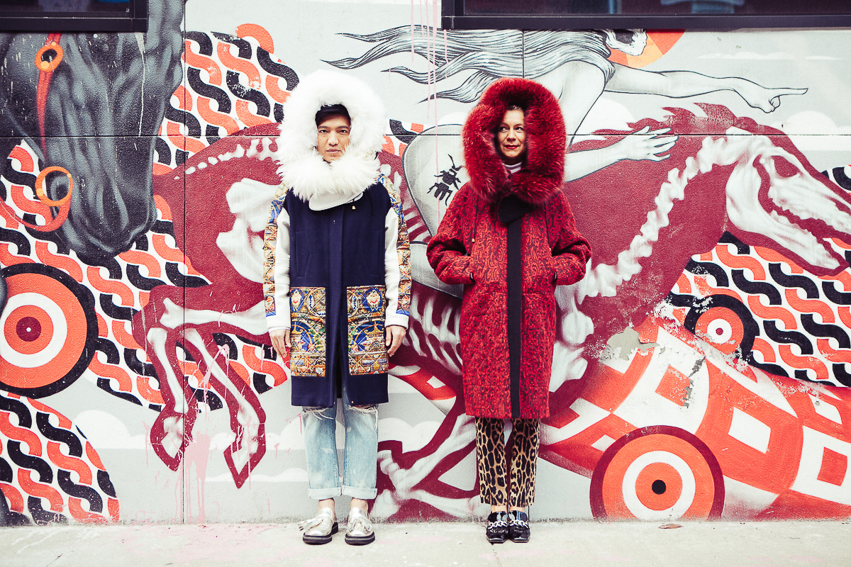 Bryanboy and Natalie Joos in Brooklyn