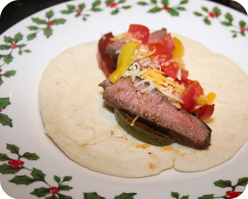 Citrus Steak Fajitas