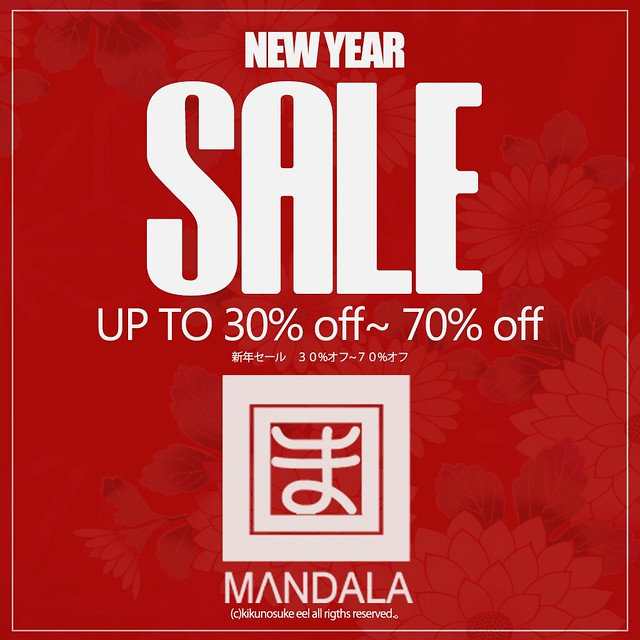 [MANDALA]New year sale
