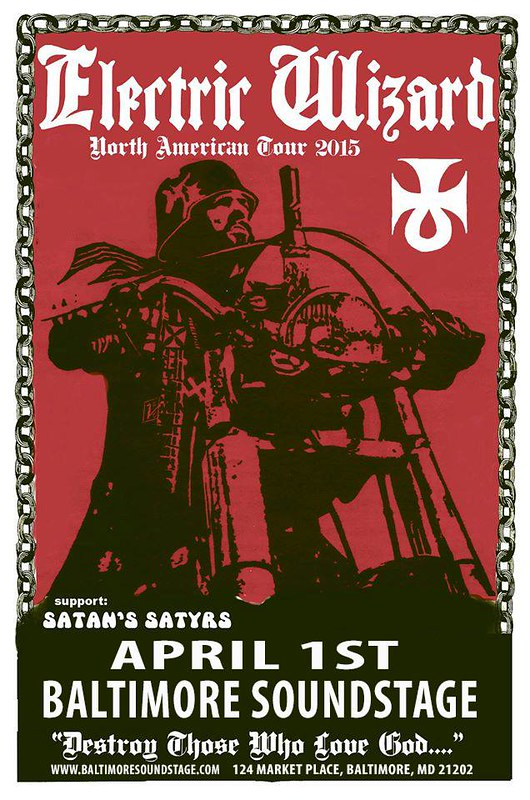 Electric Wizard at Baltimore SoundStage