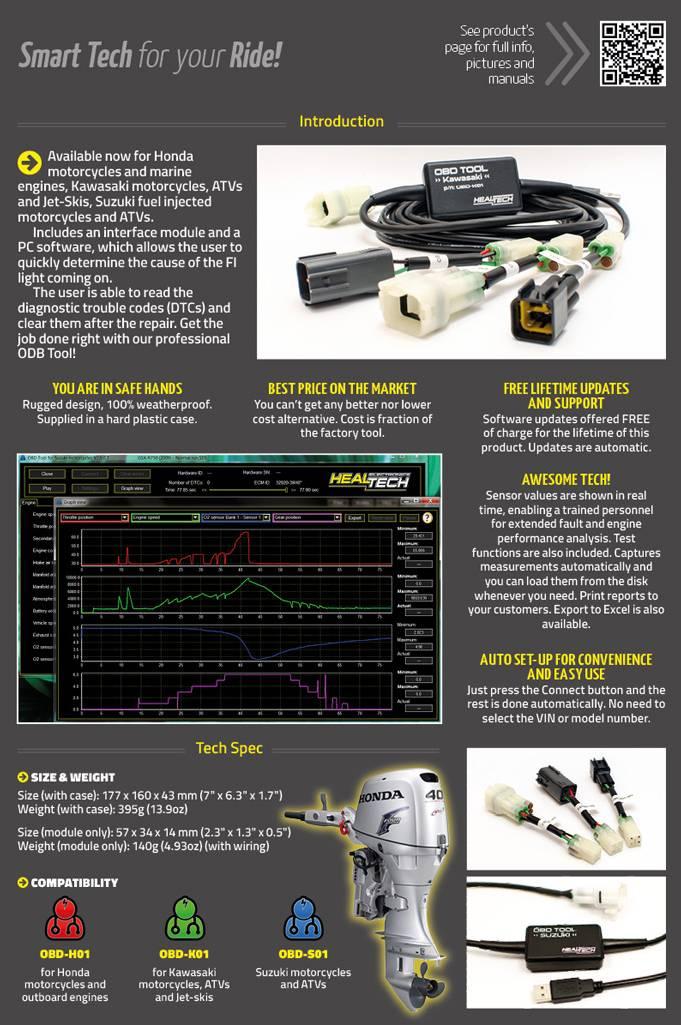 Healtech Electronics OBD Tool for Honda