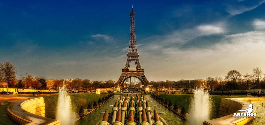 Eiffel Tower - Panorama