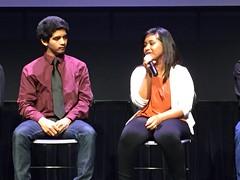 SDHS students presenting this videos at MOPA