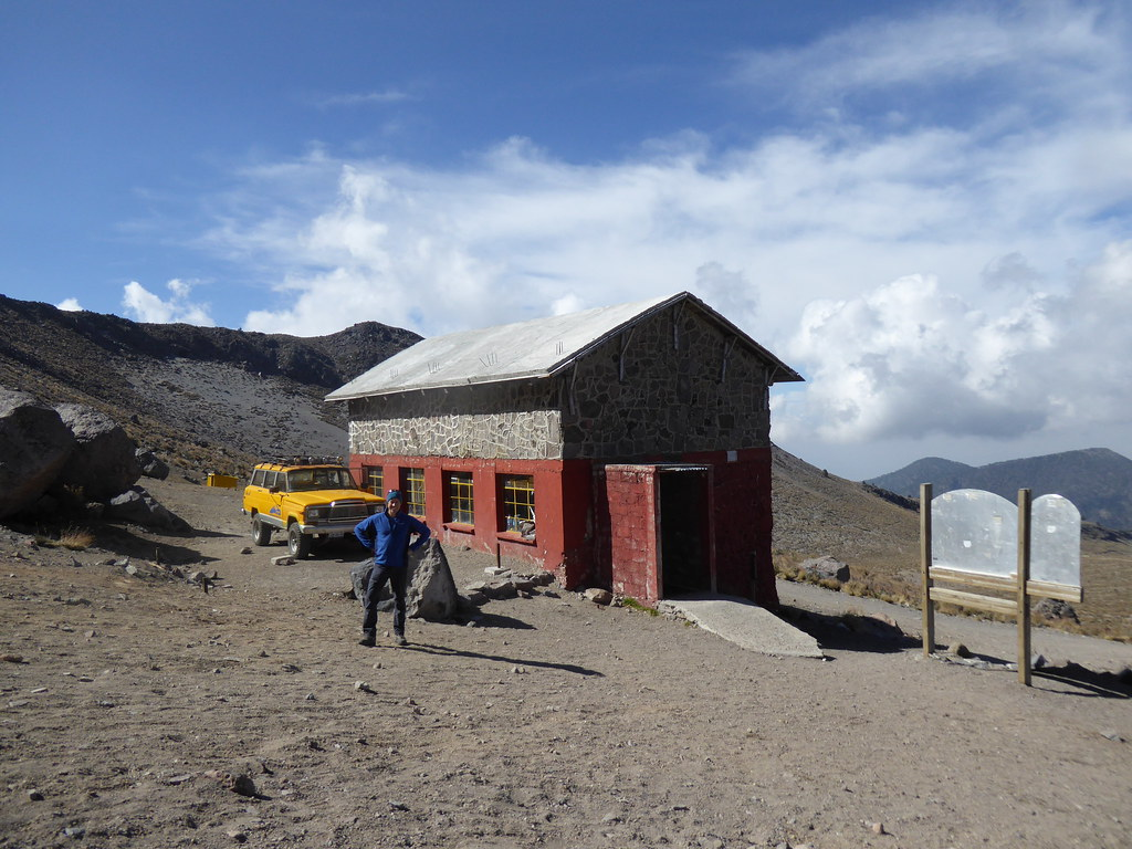Piedra Grande Hut on Pico de Orizaba