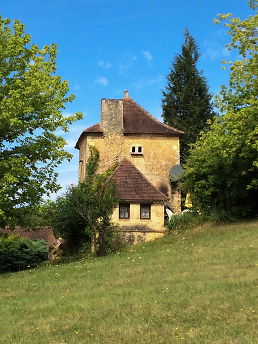 Back of Le Pigeonnier, Manoir St Marcel, Saint-Marcel-du-Périgord