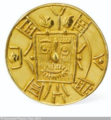Picasso gold medal obverse