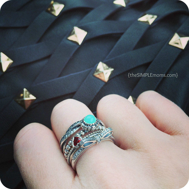 Pandora Ring Upon Ring