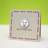 Happy New Year Card using Symbol of Year 2015