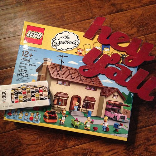 359:365 Pretty awesome Christmas gifts from my hubby. #simpsons #lego