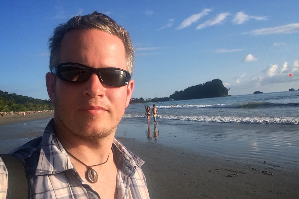 Me on Playa Espadilla
