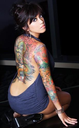girl tattoos on foot pinterest