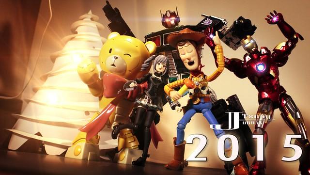 【玩具人'Jordan Tseng'投稿】新年快樂2015 !! 玩具總動員 定格動畫