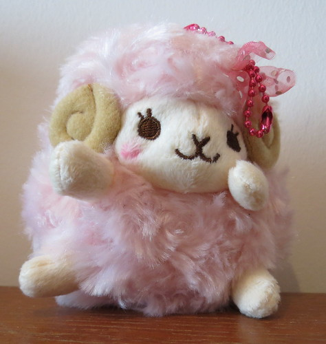 Adorable pink sheep from Tofu Cute