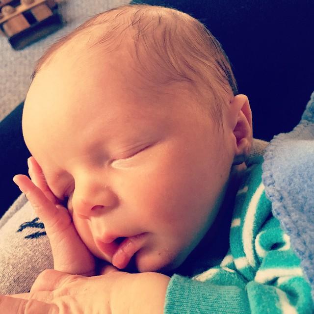 We are home now! Liam's almost a week old. He is dreamy and wonderful! #meandwee #kidstagram #kidsofinstagram #newborn #baby