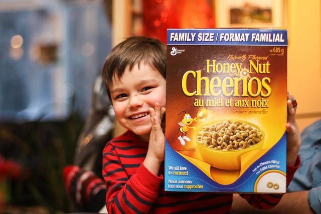 Emmanuel et son histoire d'amour avec les Cheerios