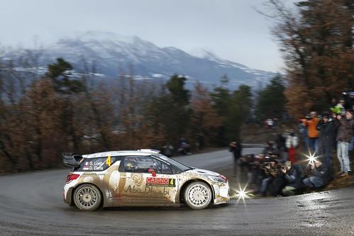 Sebastien Loeb Rally Monte Carlo 2015