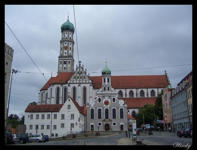 Que ver en Augsburgo en un día - Iglesias de San Ulrich y San Afra