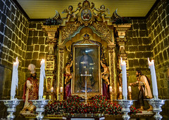 The Chapel of the Tilma inside Our Lady of Guadalupe Parish Church in Pagsanjan, Laguna