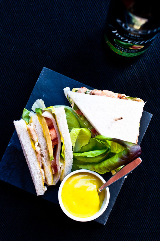 Club Sandwich con maionese all'olio di avocado