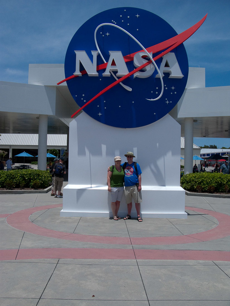 Ken and I at Kennedy Space Center